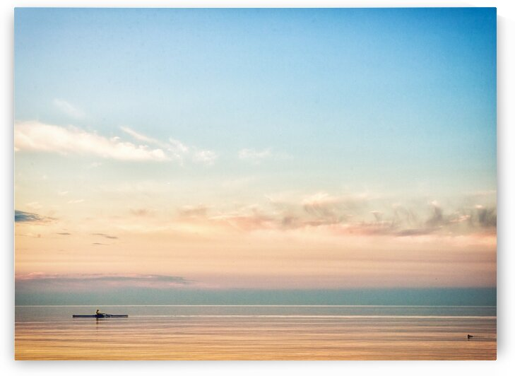 Morning rower by Katharine Asals Photography