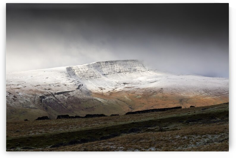 Fan Hir with a dusting of snow by Leighton Collins