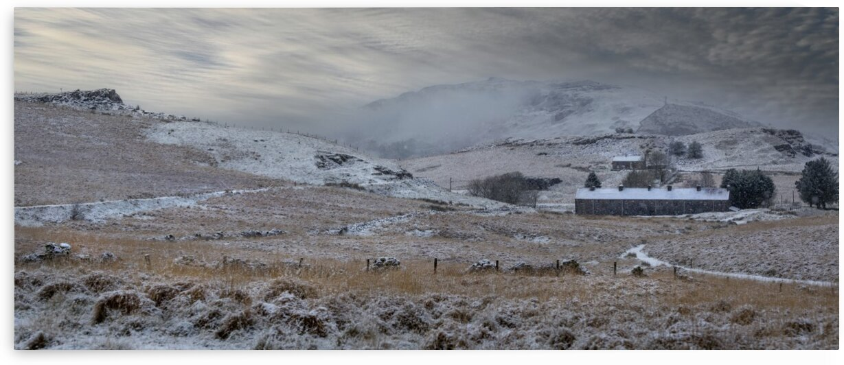 A panorama of Penwyllt by Leighton Collins