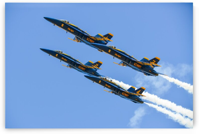 Blue Angels 0801 by Rob Clements