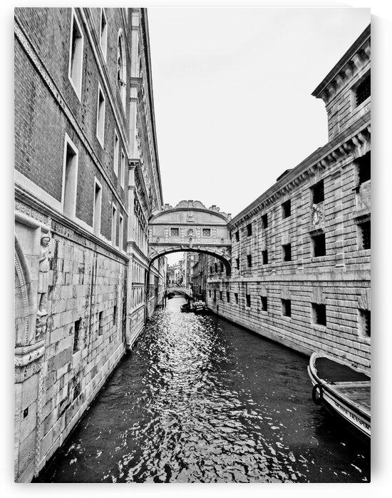 Venice Canal BW by by Tara