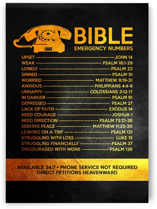 Bible Emergency Numbers by ABConcepts
