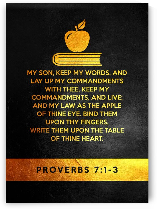 Proverbs 7:1-3 by ABConcepts
