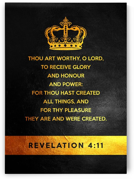 Revelation 4:11 by ABConcepts