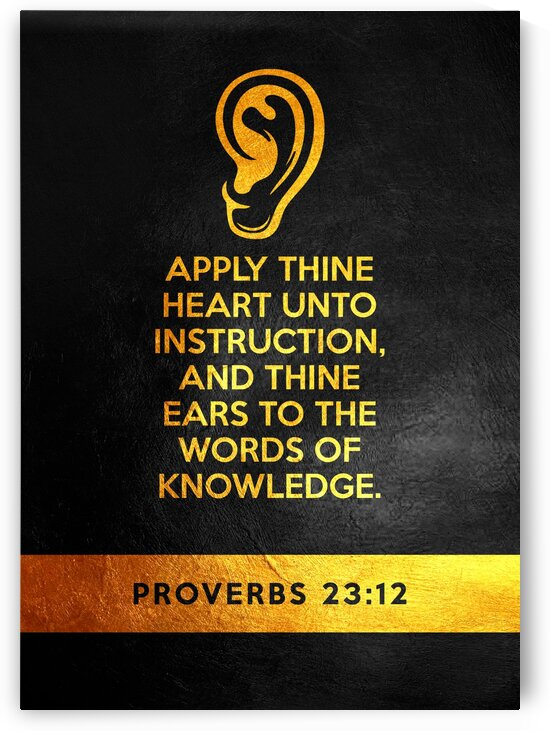 Proverbs 23:12 by ABConcepts