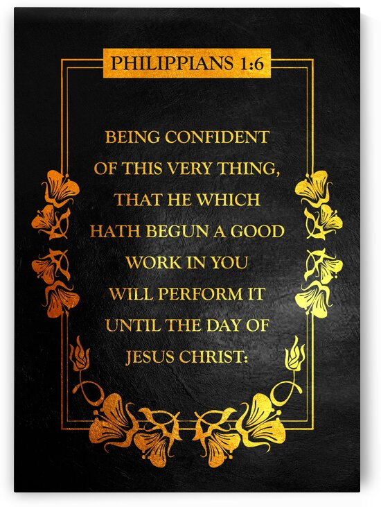 Philippians 1:6 by ABConcepts