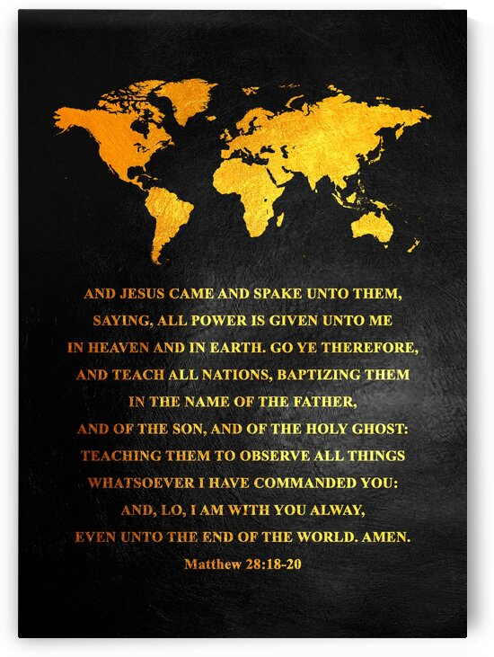 Matthew 28:18-20 by ABConcepts