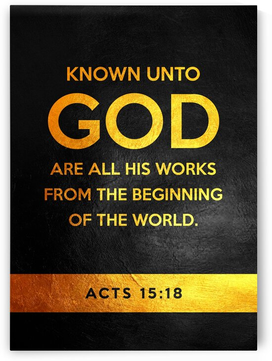 Acts 15:18 by ABConcepts