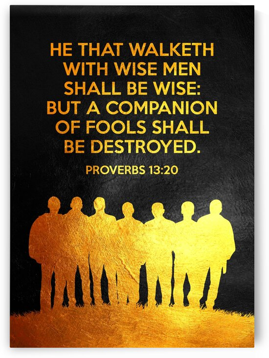 Proverbs 13:20 by ABConcepts