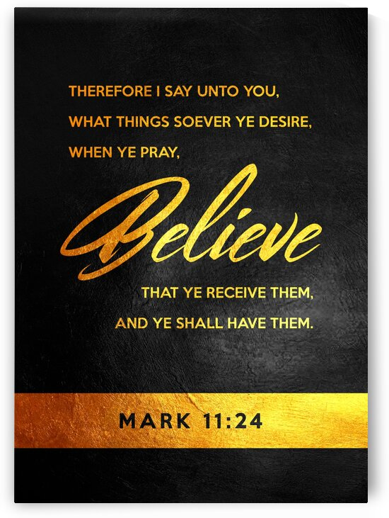 Mark 11:24 by ABConcepts