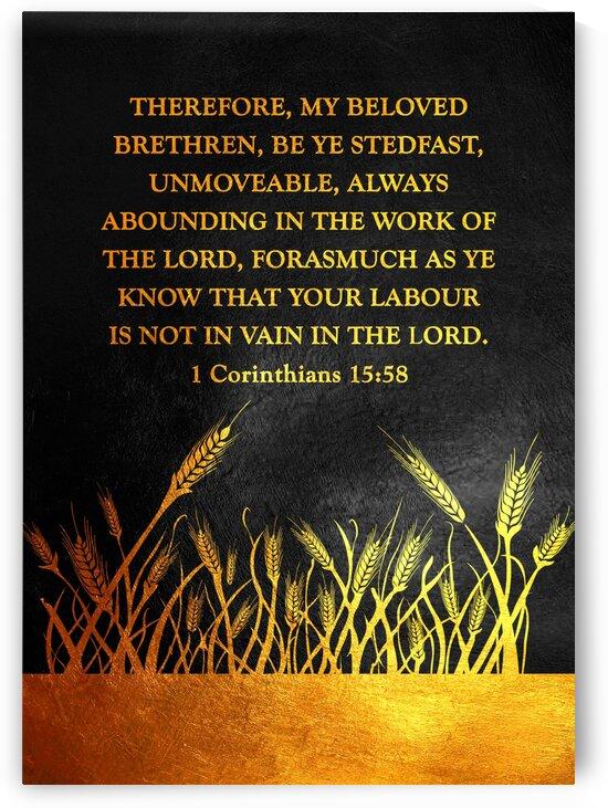 1 Corinthians 15:58 by ABConcepts