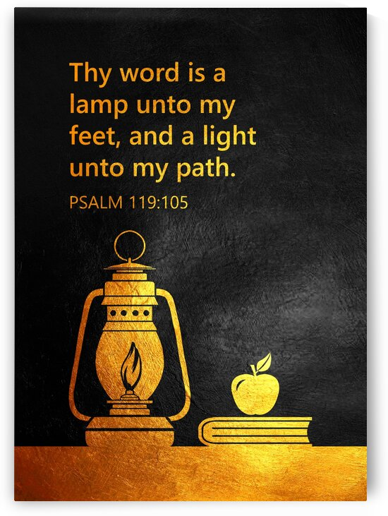 Psalm 119:105 by ABConcepts