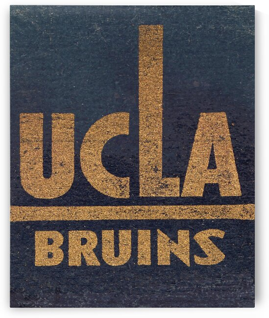 Vintage UCLA Bruins Art by Row One Brand