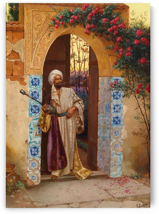 Outside the Palace by Rudolf Ernst
