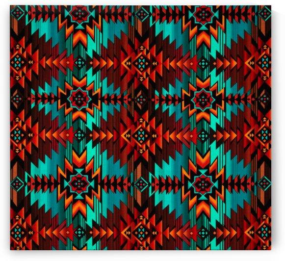 Blanket Turquoise by Mutlu Topuz