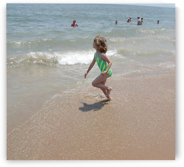 Running from the Waves by by Tara