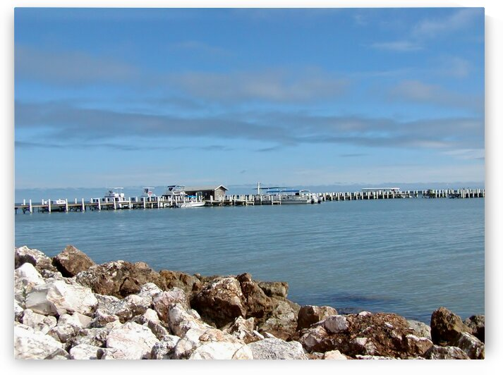 Belize water front by by Tara