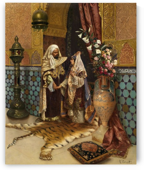 The Favourite by Rudolf Ernst