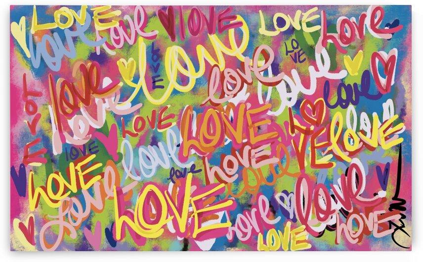 DIGITAL ILLUSTRATION - Color Scribble by Lisa Shavelson