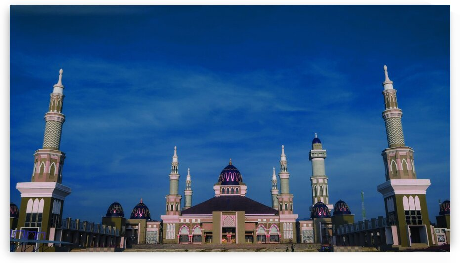 Amazing Mosques around the world   067   Infrared   Purple by ASAR STUDIOS