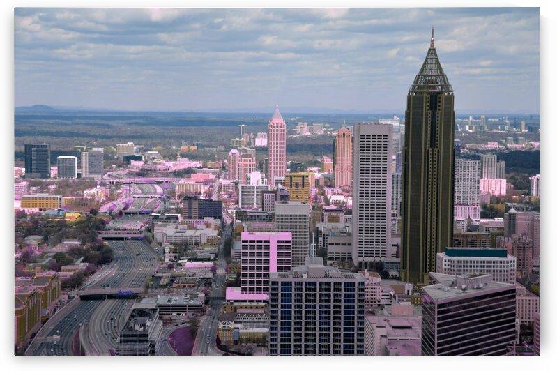 Atlanta Georgia   Infrared   Purple by ASAR STUDIOS