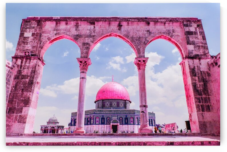 Amazing Mosques around the world   080   Infrared   Purple by ASAR STUDIOS