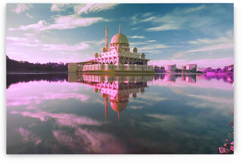 Amazing Mosques around the world   123   Infrared   Purple by ASAR STUDIOS
