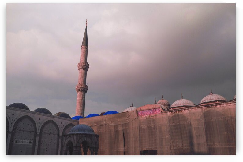 Amazing Mosques around the world   063   Infrared   Purple by ASAR STUDIOS