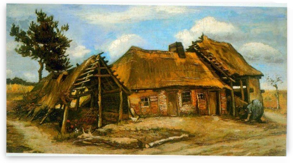 Stooping Woman by Van Gogh by Van Gogh