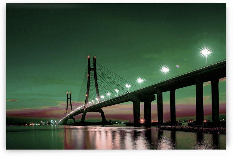 Bridge 2      Surreal Art by Ahmet Asar by ASAR STUDIOS