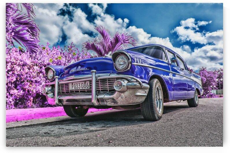 Blue Sedan   Infrared   Purple by ASAR STUDIOS