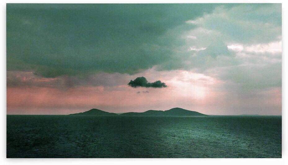 Blue Ocean   Surreal Art by Ahmet Asar by ASAR STUDIOS