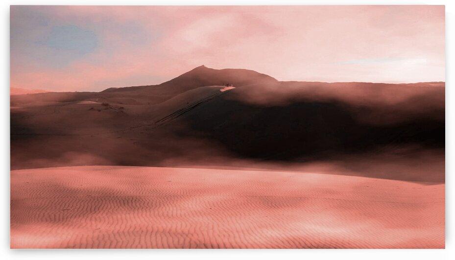 Brown Sand Field   Surreal Art by Ahmet Asar by ASAR STUDIOS