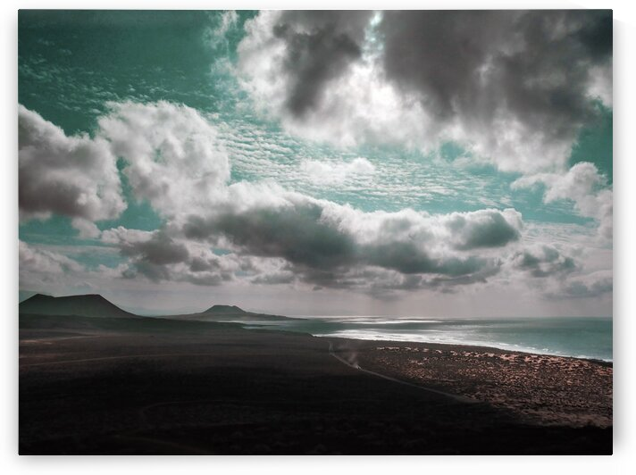 BEACH SUNSET   Surreal Art by Ahmet Asar by ASAR STUDIOS