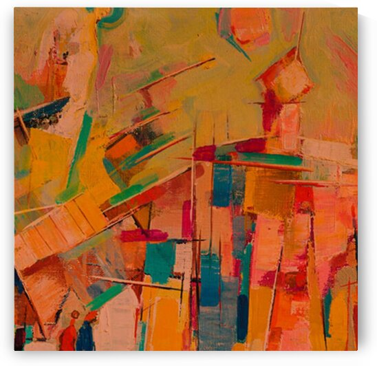 Colorful Squares by Abraham Mashinsky
