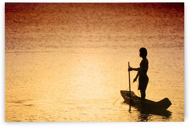 Boat - XIV - Shrimp fisherman by Carlos Wood