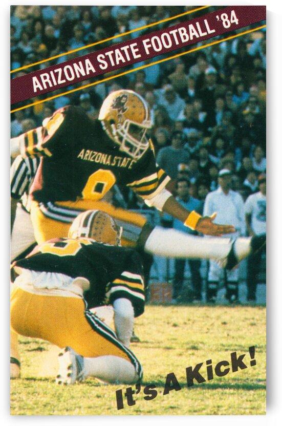 1984 Arizona State Sun Devils Football Luis Zendejas by Row One Brand