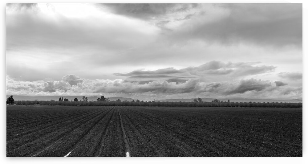 Clouds over Farm by Greg Scafidi Photography