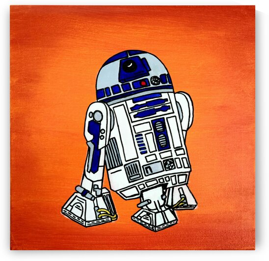 R2 D2 by Kendra Walichnowsky