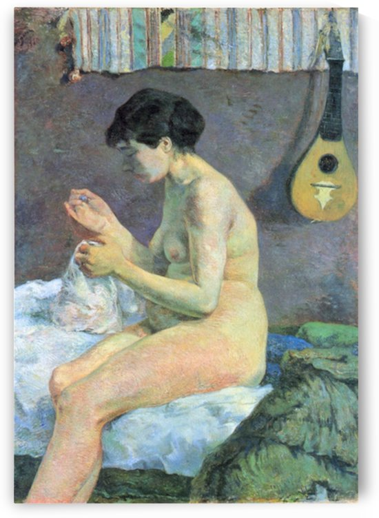 Study of a Nude by Gauguin by Gauguin