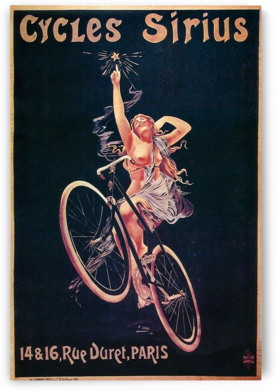 Cycles Sirius by VINTAGE POSTER