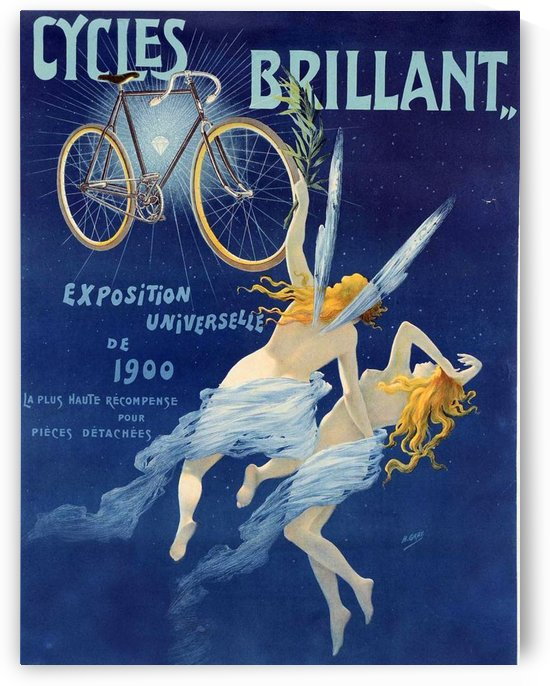 Cycles brillant by VINTAGE POSTER