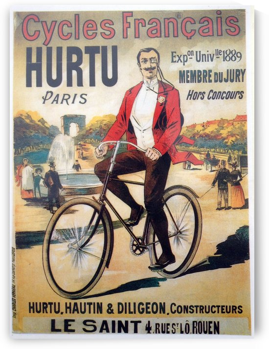 Hurtu by VINTAGE POSTER