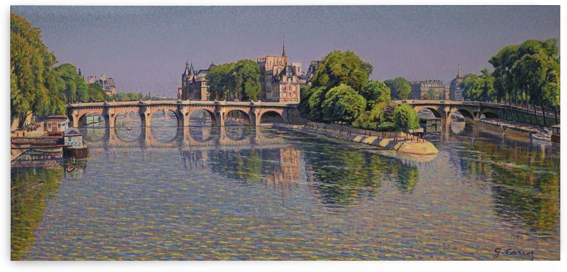 Pont Neuf by VINTAGE POSTER