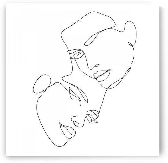 Double portrait II by Aquamarine