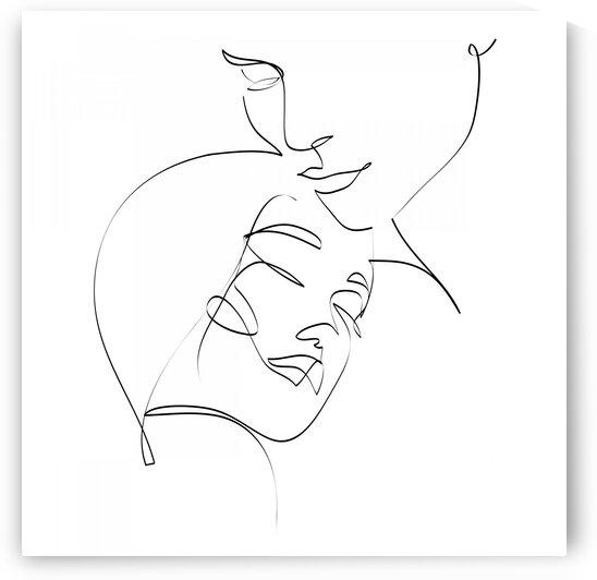 Double portrait III by Aquamarine