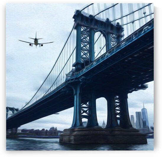 Brooklyn Bridge Park. by Ievgeniia Bidiuk