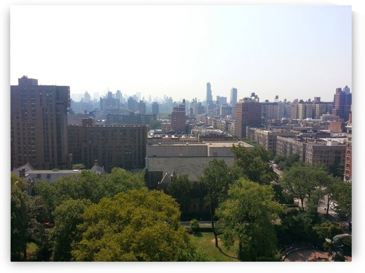 New York - City Skyline by Sara Mikhail