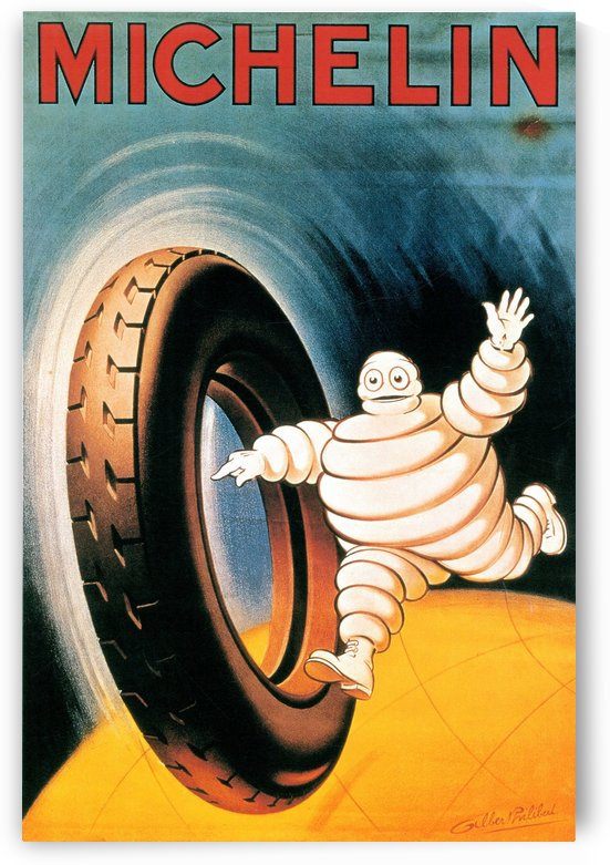 Michelin Poster by VINTAGE POSTER
