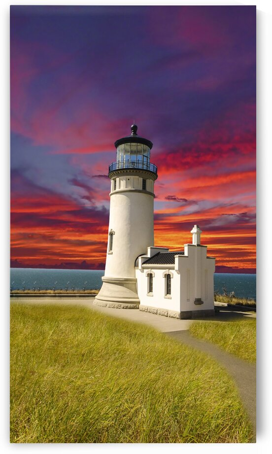 The LightHouse at Sunset by 1North